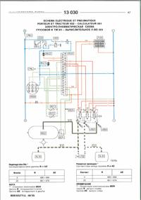 Электрические схемы грузовые авто Рено